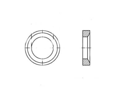 DIN 6319-D A2 Шайба сферична
