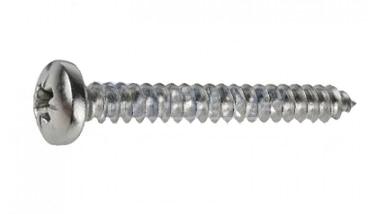 DIN 7981-C цинк Саморіз з напівкруглою головкою PZ