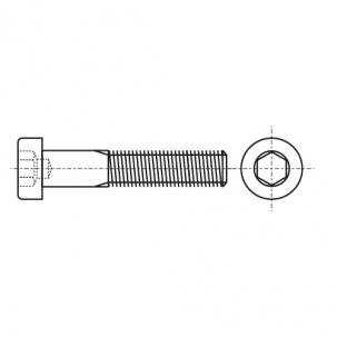 DIN 6912 10,9 цинк Болт с цилиндрической головкой и внутренним шестигранником - Dinmark