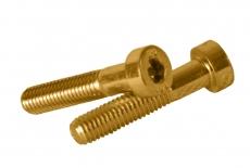 DIN 6912 8,8 цинк жовтий Болт з циліндричною головкою і внутрішнім шестигранником