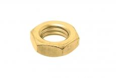 DIN 439 04 цинк жовтий Гайка низька шестигранна - Інтернет-магазин Dinmark