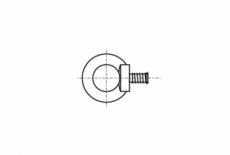 DIN 580 цинк Рим-Болт з дрібним кроком