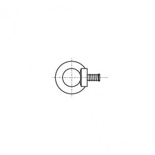DIN 580 цинк Рим-Болт з дрібним кроком - Dinmark
