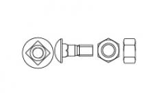 Спецболт 1199-G 10,9 напівкругла головка та квадратний підголовник - Інтернет-магазин Dinmark
