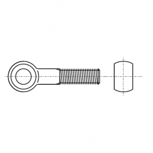 DIN 444 B 4,6 Болт откидной - Dinmark