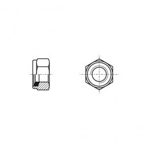 DIN 982 A4-80 Гайка самоконтряща висока