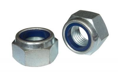 DIN 985 10 цинк Гайка самоконтрящаяся с мелким шагом - Dinmark