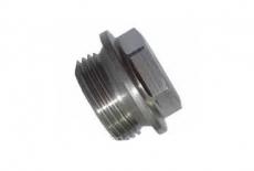 DIN 7604-A A4 Заглушка різьбова з шестигранною головкою і фланцем