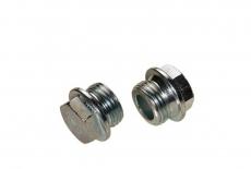DIN 7604-A цинк Заглушка різьбова з шестигранною головкою і фланцем