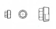 https://dinmark.com.ua/images/DIN 909 Заглушка резьбовая коническая с шестигранной головкой
