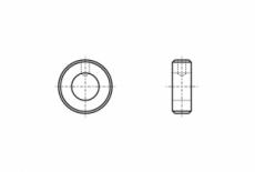 DIN 705-A цинк Кільце установче
