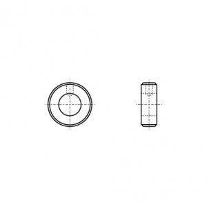 DIN 705-A цинк Кольцо установочное