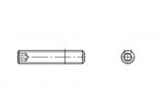 DIN 916 цинк Гвинт установочний з внутрішнім конусом