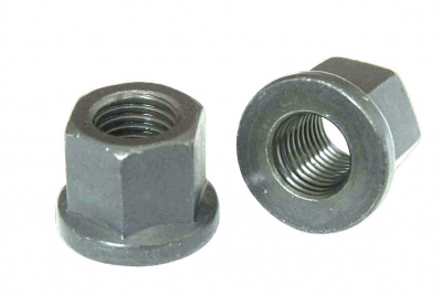 DIN 6331 10 цинк  Гайка высокая шестигранная с фланцем