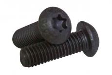 ISO 7380-1 10,9 цинк платковый черный Болт з напівкруглою головкою під torx - Інтернет-магазин Dinmark