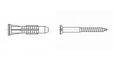 https://dinmark.com.ua/images/AN 246 Дюбель для кирпича с шурупом