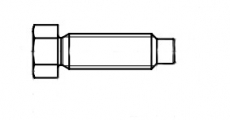 https://dinmark.com.ua/images/DIN 561-A Болт с шестигранной головкой и цапфой