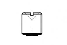 DIN 3405 цинк Пресмаслянка потайна 180 градусів