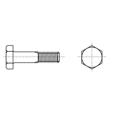 DIN 6914 / EN 14399-4 10,9 цинк горячий Болт высокопрочный с шестигранной головкой Peiner
