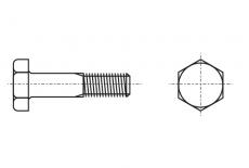 DIN 6914 / EN 14399-4 10,9 цинк горячий Болт высокопрочный с шестигранной головкой Friedberg