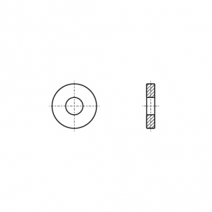 DIN 6340 сталь Шайба усиленная - Dinmark