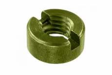 DIN 546 латунь Гайка кругла шліцева - Інтернет-магазин Dinmark