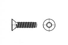 ISO 14586-F цинк Саморіз з потайною головкою під torx