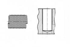 DIN 8140-A A2 Вкладка різьбова ремонтний набір - Інтернет-магазин Dinmark