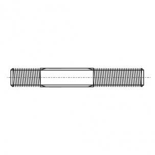 DIN 835 5,8 Шпилька резьбовая с допуском 2D