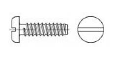 https://dinmark.com.ua/images/DIN 7971-F Саморіз з напівкруглою головкою і прямим шліцом