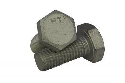 DIN 933 5,8 цинк платковый Болт с шестигранной головкой и полной резьбой