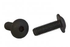 ISO 7380-2 10,9 цинк платковий чорний Болт з напівкруглою головкою і внутрішнім шестигранником