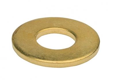 DIN 125 140HV цинк жовтий  Шайба плоска