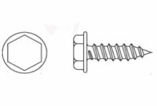 DIN 6928-C цинк Саморез с шестигранной головкой и прес-шайбой