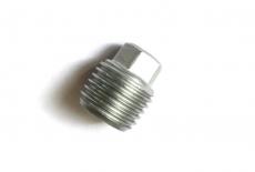 DIN 909 цинк Заглушка резьбовая конечная с шестигранноюй головкой с дюймовой різьбой
