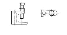 https://dinmark.com.ua/images/AN 260 Струбцина для монтажа на стальных балках