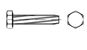 DIN 7513 А цинк Гвинт з шестигранною головкою самонарізаючий