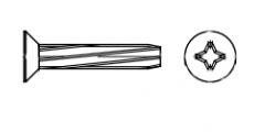 https://dinmark.com.ua/images/DIN 7516 D Винт с потайной головкой самонарезающий