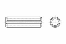 DIN 1481 цинк Штифт пружинный цилиндрический