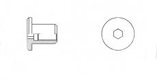 https://dinmark.com.ua/images/1508 Гайка Ериксона с плоской головкой - Інтернет-магазин Dinmark