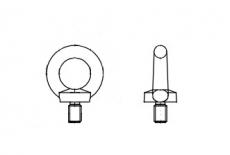 DIN 580 цинк платковий Рим-Болт - Інтернет-магазин Dinmark