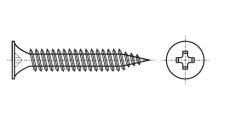 https://dinmark.com.ua/images/AN 206 Саморіз з потайною головкою для гіпсокартону метал - Інтернет-магазин Dinmark