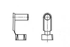 AN 124 цинк Шворінь із пружинним захистом