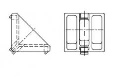 AN 172 Заглушка для уголка