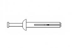 AN 306 сталевий Дюбель швидкого монтажу (Анкер)