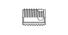 https://dinmark.com.ua/images/AN 337 Вставка різьбова самонарізна - Інтернет-магазин Dinmark