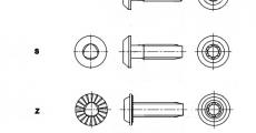 https://dinmark.com.ua/images/AN 605 Гвинт з напівкруглою головкою для профілів