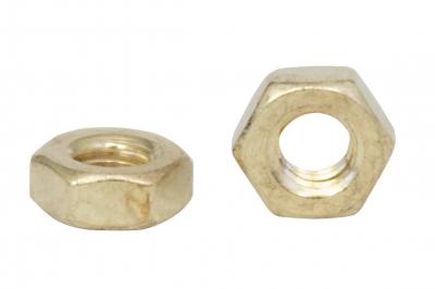 DIN 934 латунь Гайка шестигранная латунь