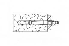 Анкерная шпилька Highbond FHB II-A S цинк FISCHER - Інтернет-магазин Dinmark