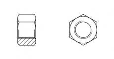 https://dinmark.com.ua/images/UNI 5587 Гайка шестигранна - Інтернет-магазин Dinmark